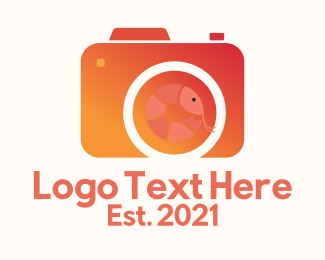 Photograph - Seafood Photographer logo design