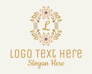 Regal - Classy Flower Letter logo design
