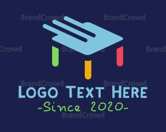 Table - Swipe Table logo design
