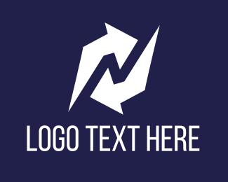 Turn - Refresh Arrow logo design