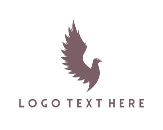 Pigeon - Wild Pigeon logo design