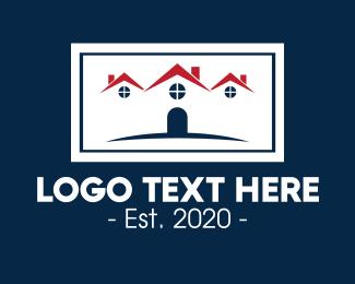 Neighbourhood - Modern Housing Apartment logo design