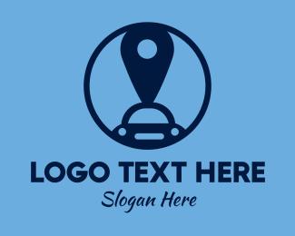 Automotive - Automotive Car Location Pin logo design