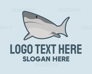 Wild - Wild Shark logo design
