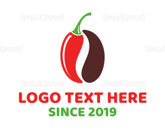 Chili - Chili Coffee  logo design