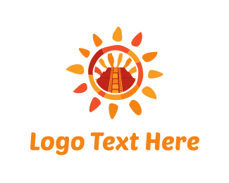 History - Aztec Sun logo design
