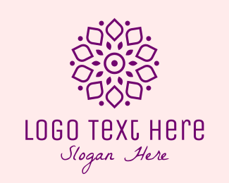 Flower Stall - Therapy Flower Spa logo design
