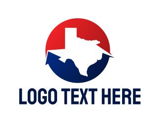 San Antonio - Circle Texas State logo design