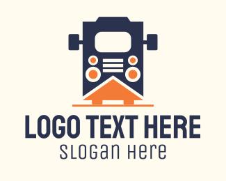 Transport - Transit Bus Transport logo design