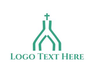 Faith - Mint Church logo design