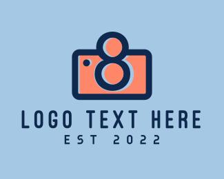 Blog - Pastel Photography Camera logo design