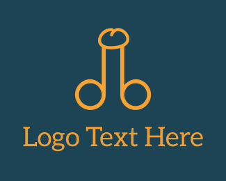 Erotic - Big Yellow D & B logo design