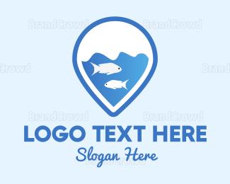 Aquarium - Drop & Aquarium logo design