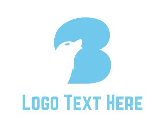 Baby Blue - Blue Wolf logo design