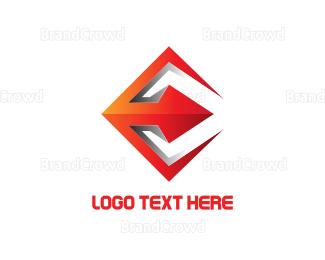 Spear - Red Spear logo design