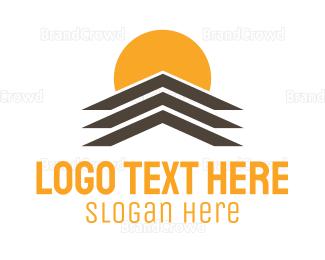 Roof - Building Roof logo design