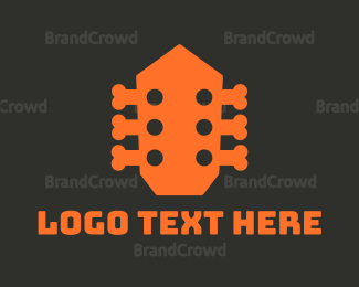 Ivory - Music Bones logo design