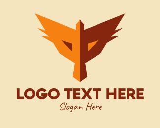 Hawk - Fox Face Hawk logo design