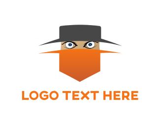 Texas - Rebel Cartoon  logo design
