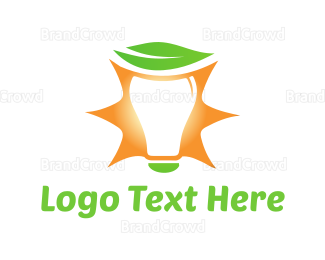Bulb - Eco Light logo design