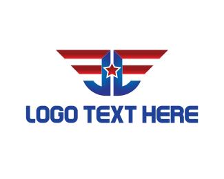First - American Emblem logo design