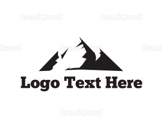 Outdoor - Black Mountain logo design