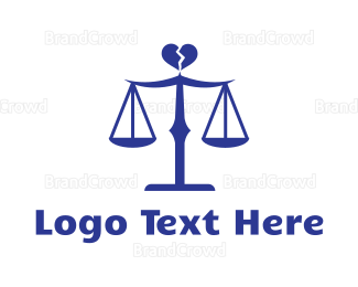 Lawyer - Divorce Lawyer logo design