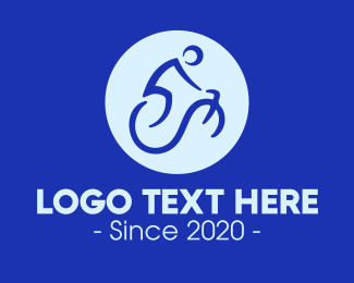 Bike Tour - Bicycle Lines logo design