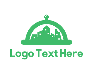 Green City - Green Cloche City logo design