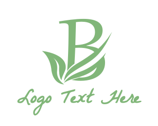 Sauna - Fresh B Leaf  logo design