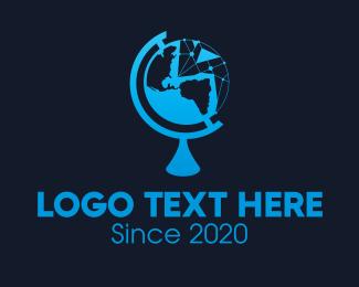 Science - Global Science Organization logo design