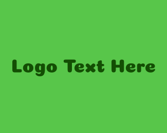 """Green Friendly Wordmark"" by BrandCrowd"