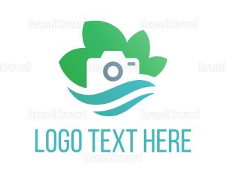 Photo - Eco Camera logo design