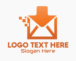 Inbox - Orange Digital Inbox logo design