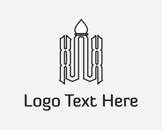 Sri Lanka - Arab Temple logo design