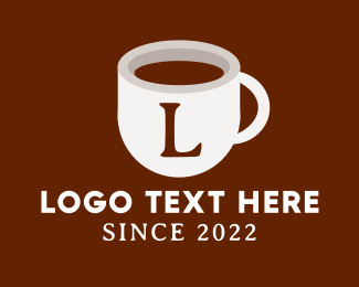 Choco - Coffee Mug Lettermark logo design
