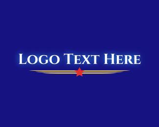 Rank - Glowing Military Emblem logo design