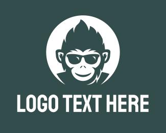 Cool - Funky Monkey logo design