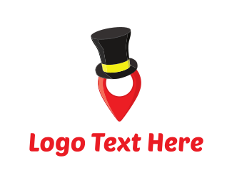 Hat Pin  Logo