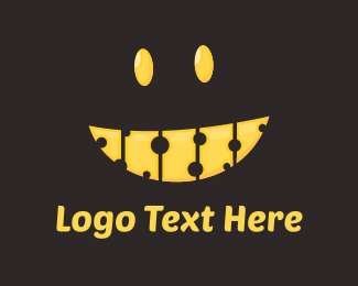 Smiley - Cheese Smile logo design