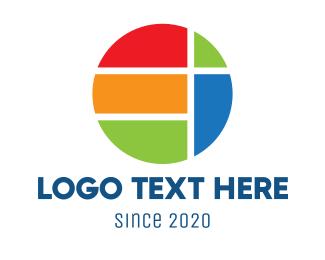 Planet - Geometric Planet logo design