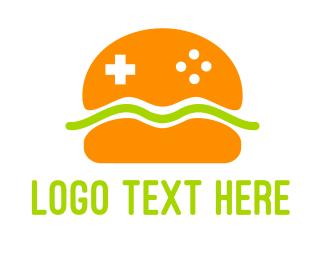 """Burger Gaming"" by eightyLOGOS"