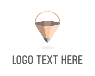Web Design - Pencil Basket logo design