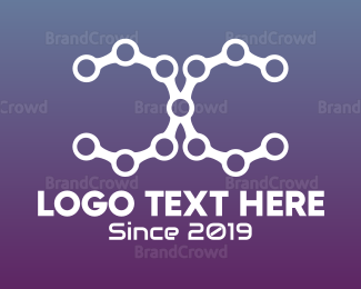 Chain - Abstract Chain Letter C logo design