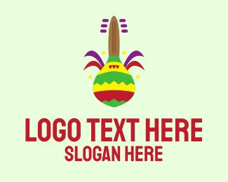 Festival - Maracas Gay Festival  logo design