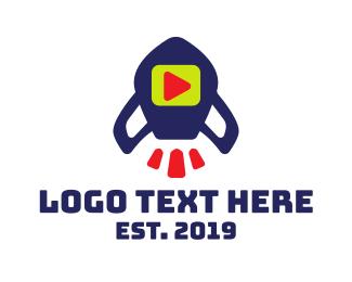 Digital Media - Media Rocket logo design