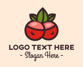 Fresh Fruit - Fresh Berry Fruit  logo design