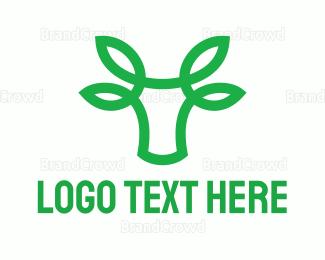 Deli - Green Bovine logo design