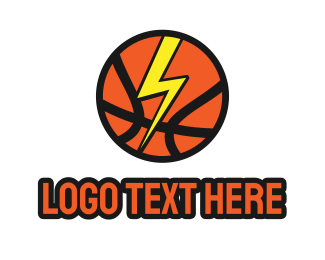 Federation - Thunder Basketball  logo design