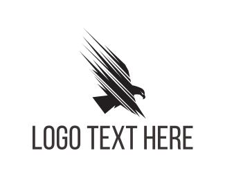 Hawk - Fast Eagle Fly logo design